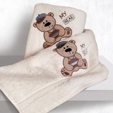 Βρεφικές Πετσέτες (Σετ 2 Τμχ) Sb Home Bayle