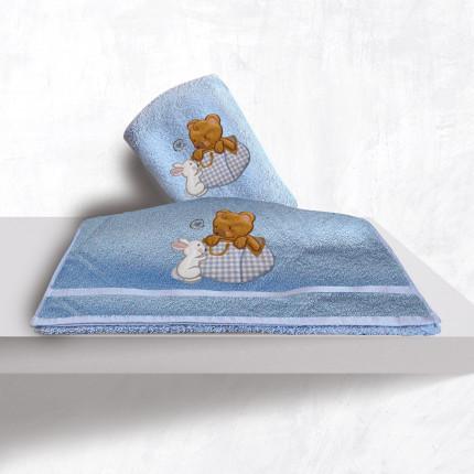 Βρεφικές Πετσέτες (Σετ 2 Τμχ) Sb Home Bear Boy