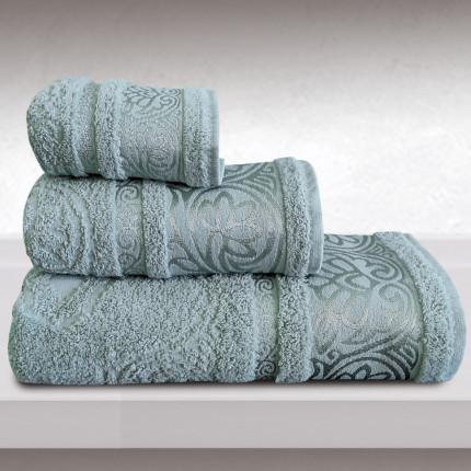 Πετσέτες Μπάνιου (Σετ 3 Τμχ) Sb Home Cronos Blue