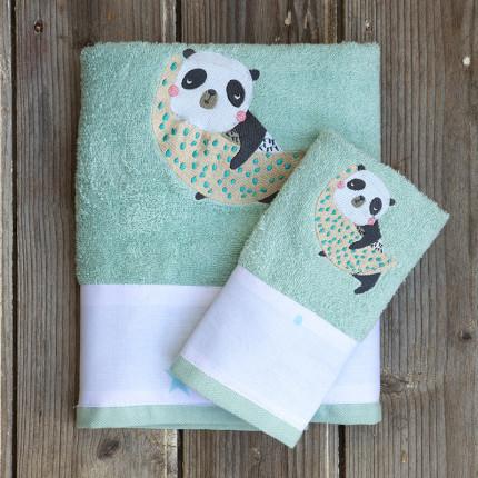 Παδικές Πετσέτες (Σετ 2 Τμχ) Kocoon Space Panda