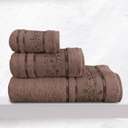 Πετσέτα Χεριών 30X50 Sb Home Themis Choco