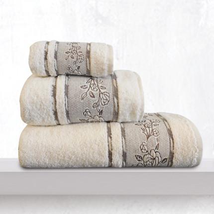 Πετσέτα Χεριών 30X50 Sb Home Themis Cream