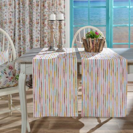 Κουρτίνα Με Τρέσα 140X260 Teoran Sagrada