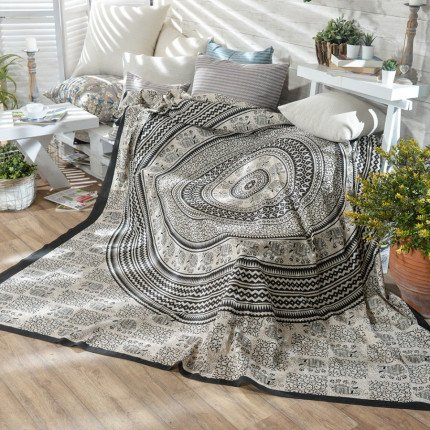 Κουβέρτα Καναπέ 210X230 Teoran Boho 05