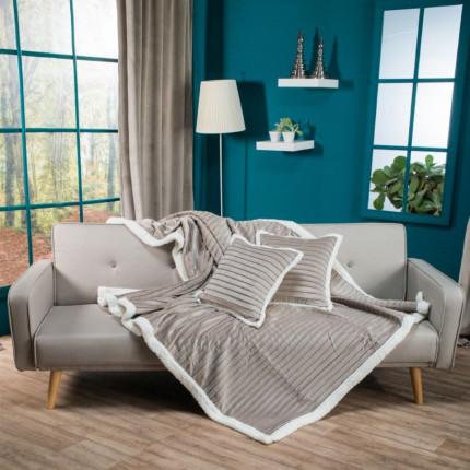 Κουβέρτα Καναπέ 160X220 Teoran Fold 7