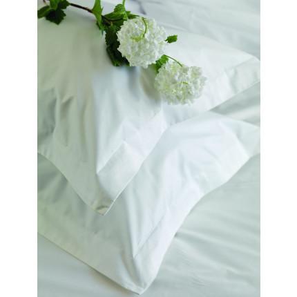 Σεντόνι Περκάλι (Μεμωνομένο) Μονό 160x260 White Plain Palamaiki White Comfort