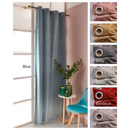 Κουρτίνα Με Τρουκς 140X260 Palamaiki Curtain Collection Abbot