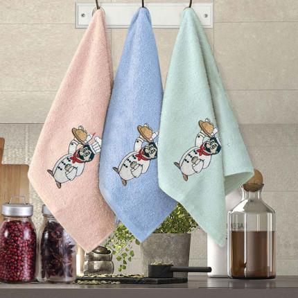 Πετσέτες Κουζίνας (Σετ 3 Τμχ) 30x50 Sb Home Coffe Time No11