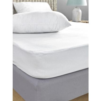 Αδιάβροχο Βρεφικό Κάλυμμα Στρώματος 75X140+20 Jaquard Waterproof Palamaiki White Comfort