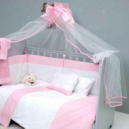 Κουνουπιέρα 180x480 Sb Home Ροζ