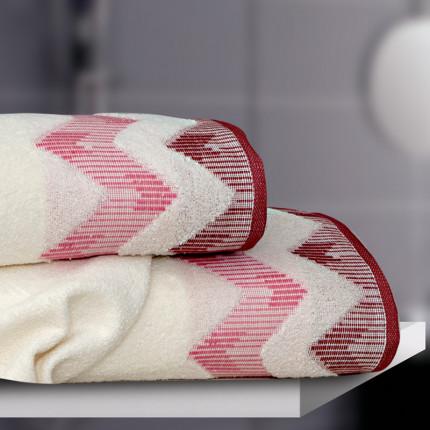Πετσέτα Χεριών 30x50 Sb Home Manon Dusty Pink Σαπιο Μηλο