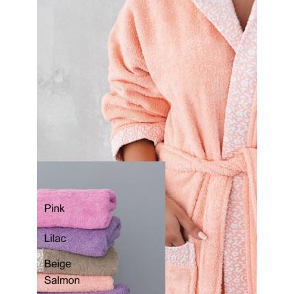 Μπουρνούζι Με Κουκούλα Palamaiki Towels Collection Primavera