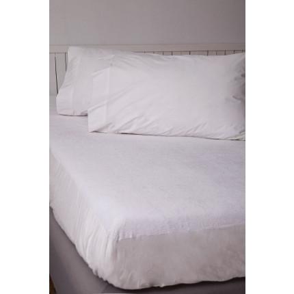 Κάλυμμα Μαξιλαριών (Ζεύγος) 50x70 Comfort Waterproof Palamaiki White Comfort