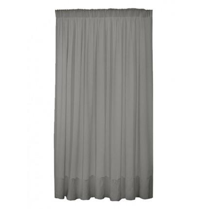 Κουρτίνα με Τρέσα 290x280 Sunshine Γάζα Grey