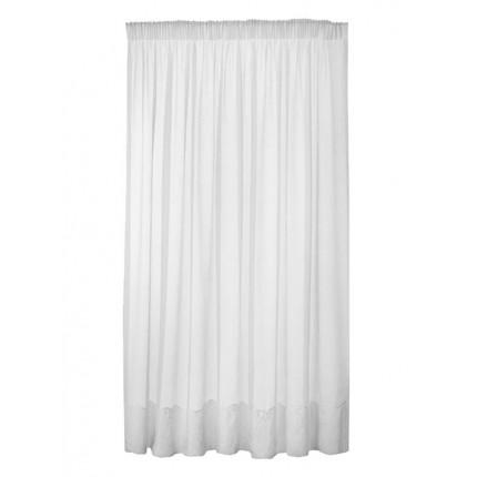 Κουρτίνα με Τρέσα 290x280 Sunshine Γάζα White
