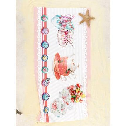 Πετσετα Θαλασσης 75x150 YH-059 Palamaiki Digital Print