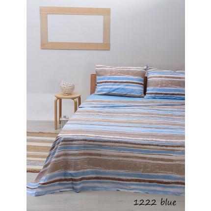 Σεντόνια Μονά (Σετ) Sunshine 1222 Blue