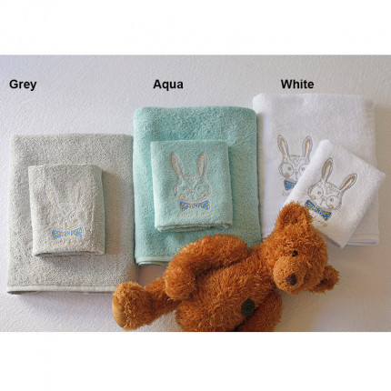 Παιδικές Πετσέτες (Σετ 2 Τμχ) Melinen Bunny