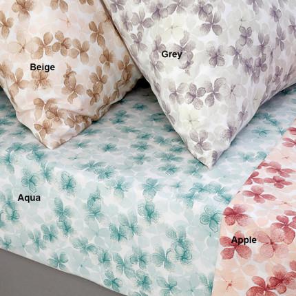 Σεντόνι Μεμονωμένο Υπέρδιπλο 205X270 Melinen Floral Χωρίς Λάστιχο