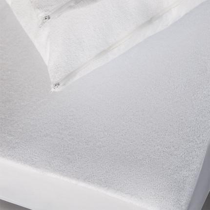 Αδιάβροχο Επιστρώμα Ημίδιπλο 120X200+30 Melinen Πετσετε Λευκο