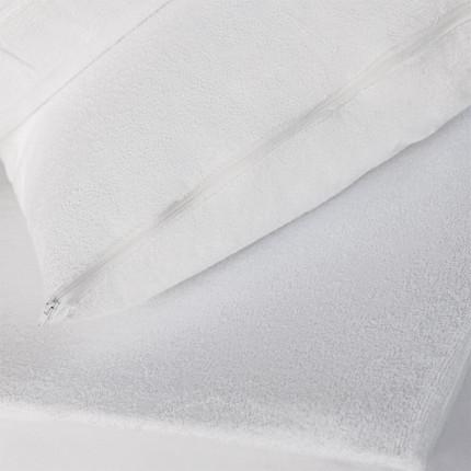 Αδιάβροχο Κάλυμμα Μαξιλαριών 50X70 Melinen Πετσετε Λευκο