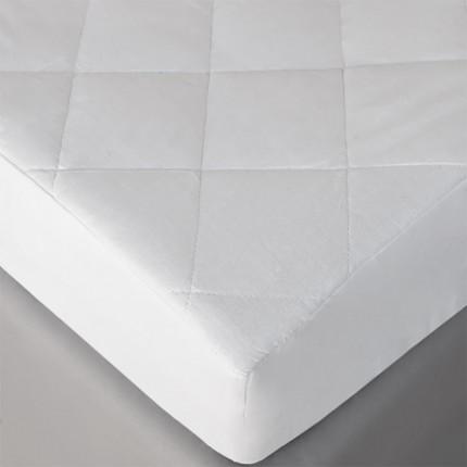 Επίστρωμα Καπιτονέ King Size 180X200+30 Melinen Ρομβος Λευκο