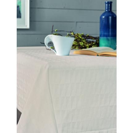 Πετσέτες Φαγητού (Σετ) 45x45 Optic Palamaiki Festozi Ivory