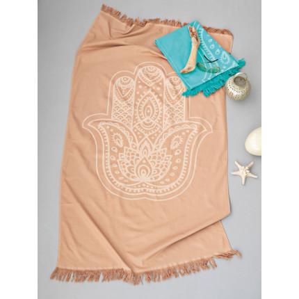 Πετσετα Θαλασσης Παρεο Κροσι 85x160 PA-905 Palamaiki Beach Towel