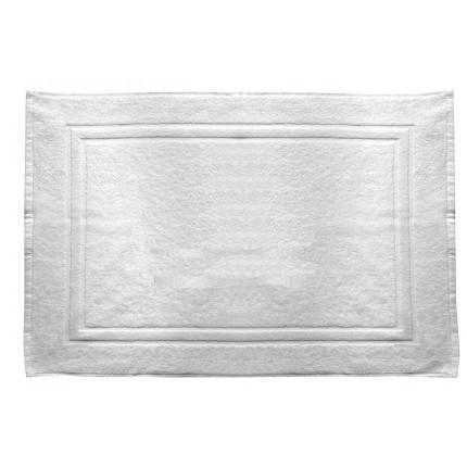 Πατάκι 50x75 Μπάνιου - Λευκό Κορνίζα Ξενοδοχειακό