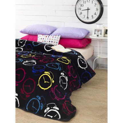 Κουβέρτα Fleece Υπέρδιπλη 220x240 SY-248 Palamaiki Silky Collection
