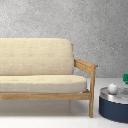 Ελαστικά καλύμματα καναπέ με ξύλινα μπράτσα Tania