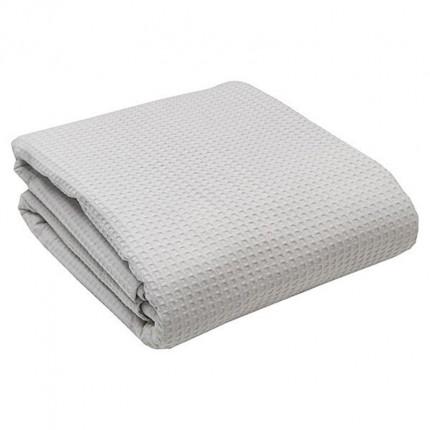 Κουβέρτα Πικέ Μονή 160x255 Light Grey