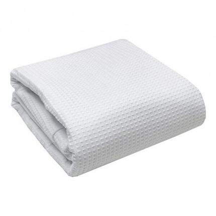 Κουβέρτα Πικέ Υπέρδιπλη 230x260 Λευκή