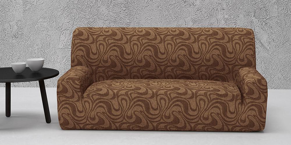 Ελαστικά καλύμματα καναπέ Danubio-Τετραθέσιος-Καφέ-10+ Χρώματα Διαθέσιμα-Καλύμματα Σαλονιού