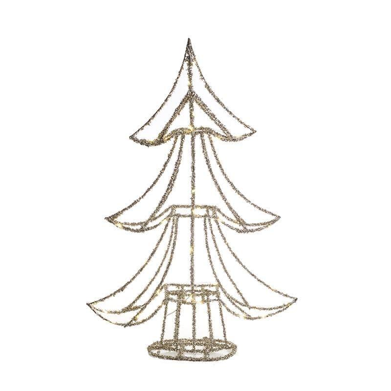 Δεντράκι Με LED Inart 2-70-570-0187