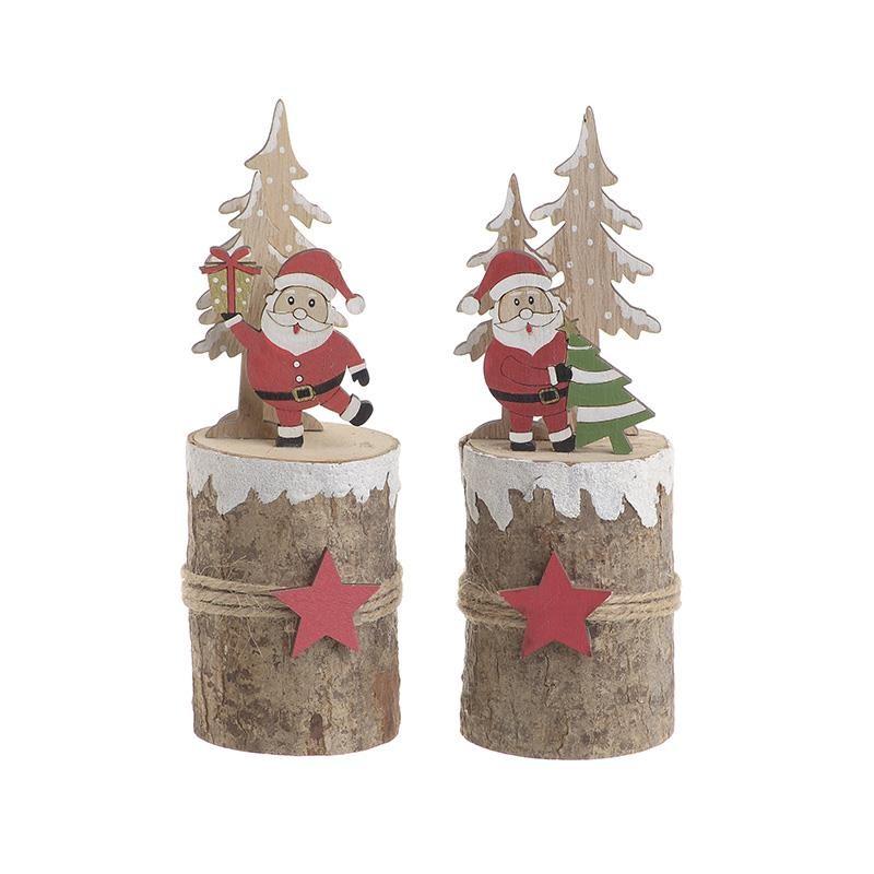 Χριστουγεννιάτικο Διακοσμητικό Σετ Των 2 Inart 2-70-540-0066