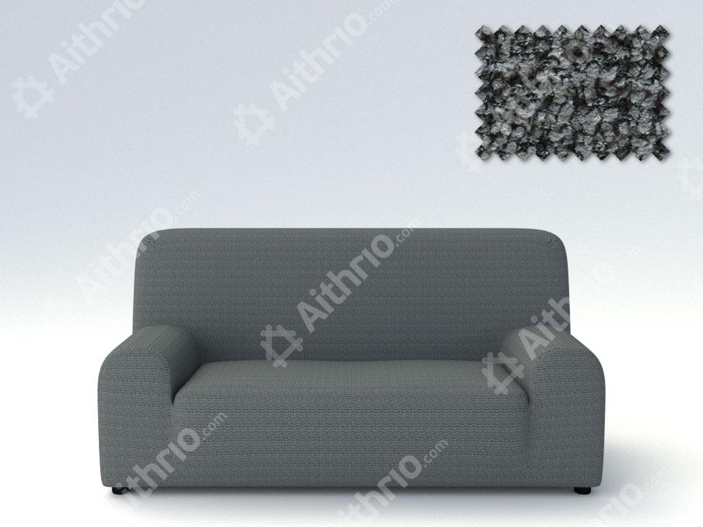 Ελαστικά Καλύμματα Προσαρμογής Σχήματος Καναπέ Σενιλ Bielastic Elegant – C/10 Γκρι – Τριθέσιος-10+ Χρώματα Διαθέσιμα-Καλύμματα Σαλονιού