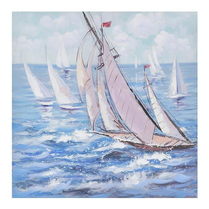 Πίνακας Καμβάς Inart 3-90-519-0221 80×80