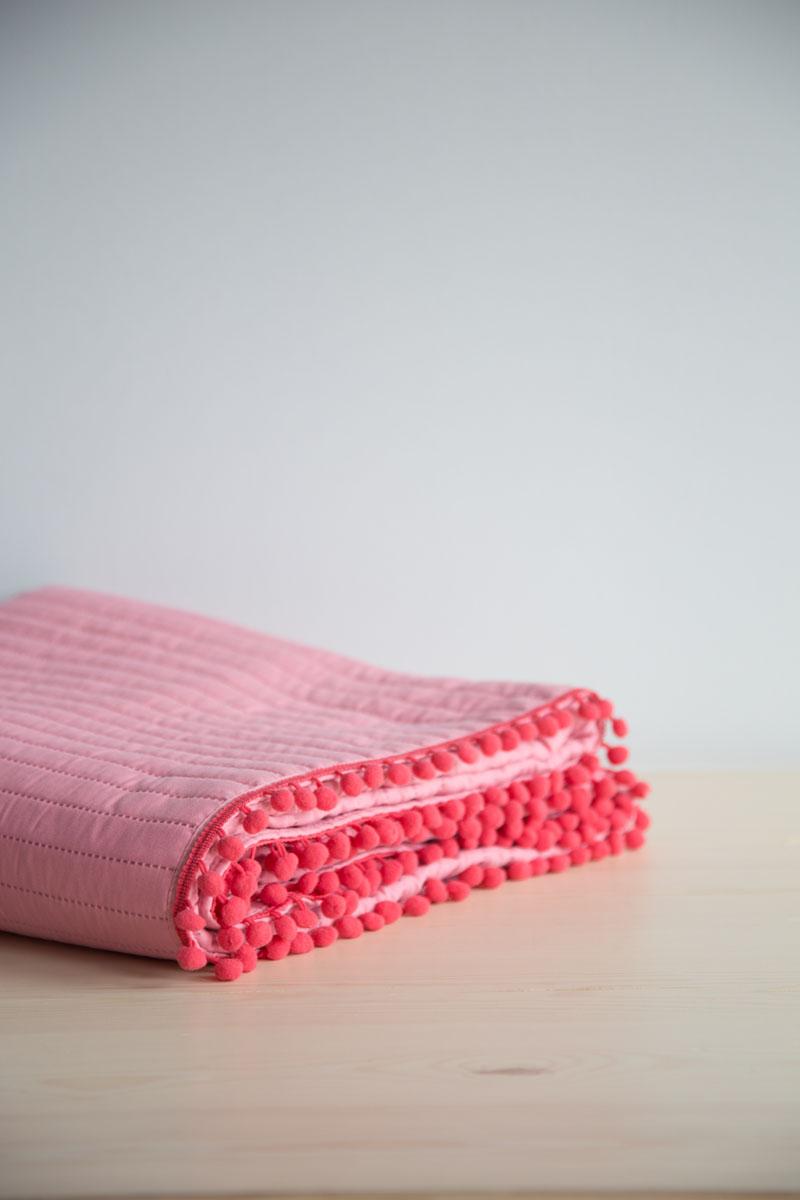 Κουβερλί Μονό Nima – Finesse Vivid Pink