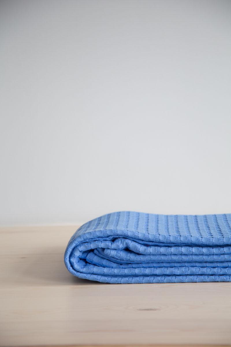 Κουβέρτα Πικέ Μονή Habit Nima – Vivid Blue
