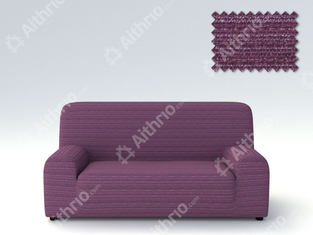 Ελαστικά καλύμματα καναπέ Ibiza-Πολυθρόνα-Μωβ-10+ Χρώματα Διαθέσιμα-Καλύμματα Σαλονιού