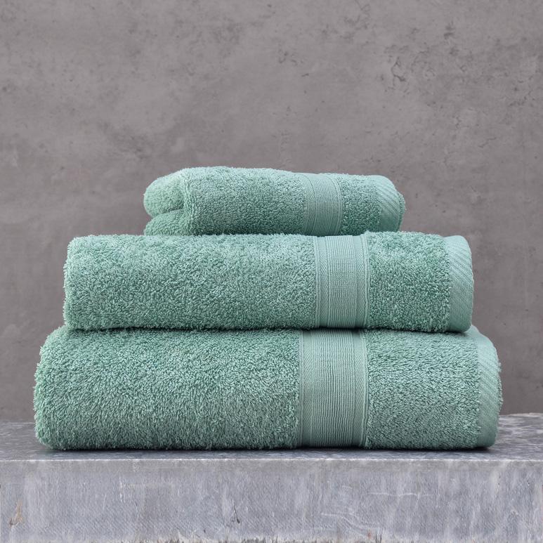 Πετσέτα Μπάνιου 70X140 Rythmos Illusion Πρασινο