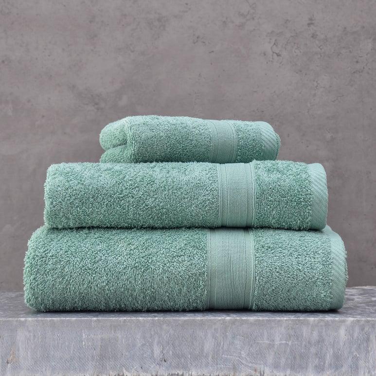 Πετσέτες Μπάνιου (Σετ 3 Τμχ) Rythmos Illusion Πρασινο