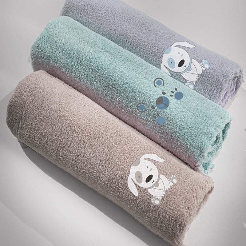 Κουβέρτα Fleece Κούνιας 100×140 Guy Laroche Puppy Silver