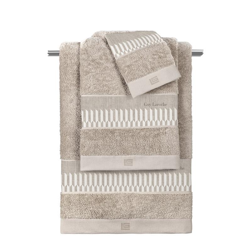 Πετσέτες Μπάνιου (Σετ 3 Τμχ) Guy Laroche Accordo Natural