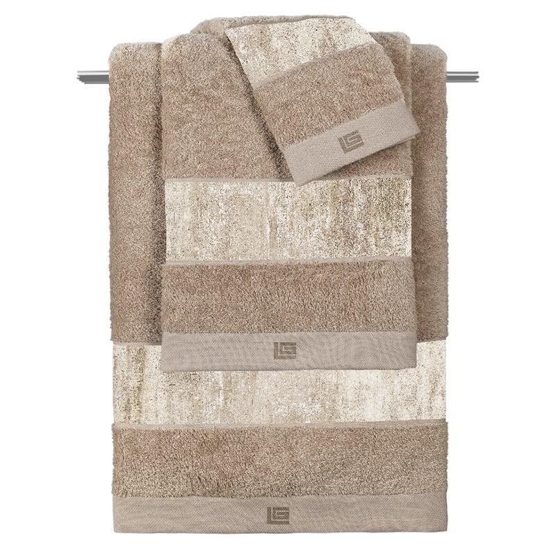 Πετσέτες Μπάνιου (Σετ 3 Τμχ) Guy Laroche Wall Rust