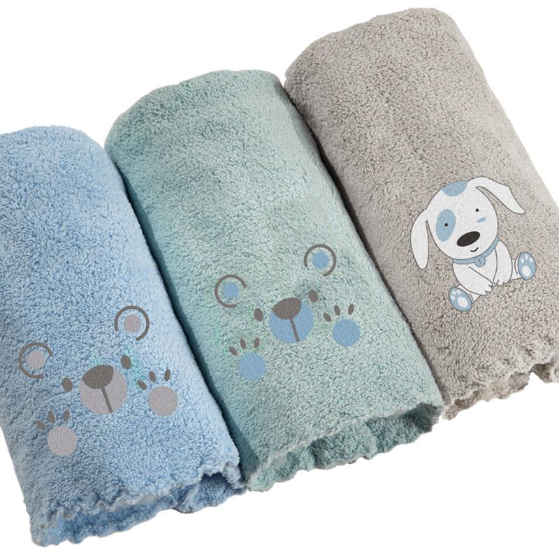 Βρεφικές Πετσέτες 35×50 (Σετ 3 Τμχ) 35×50 Guy Laroche Baby Boy