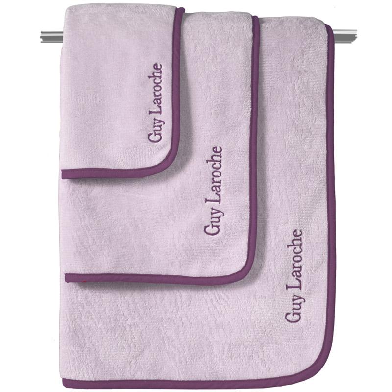 Πετσέτες Μπάνιου (Σετ 3 Τμχ) Guy Laroche Comfy Lilac