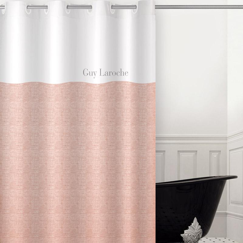 Κουρτίνα Μπάνιου 180×190 Guy Laroche Finesse Coral