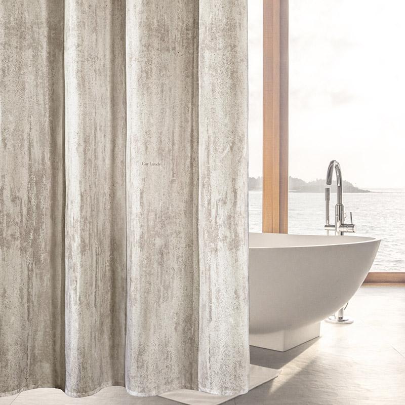 Κουρτίνα Μπάνιου 240×185 Guy Laroche Wall Rust (240×185)